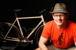 SWAIN - portrait with new bike