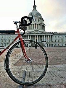 Post-work commute past the Capitol