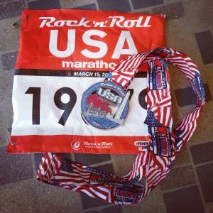 Obligatory marathon bib and medal shot