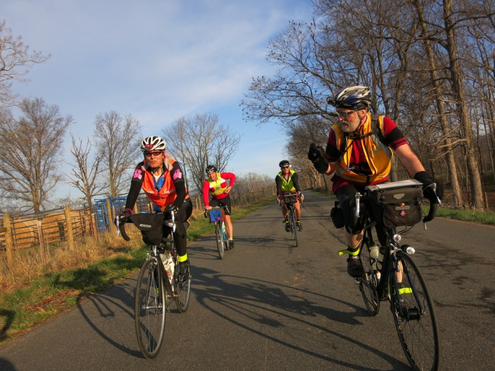 Carol, Bill. Warrenton 300K Brevet