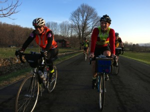 Carol and D. Warrenton 300K Brevet 2014