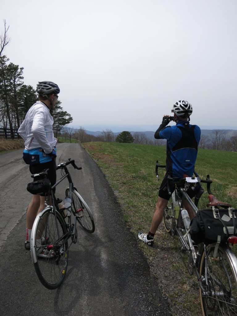 Jerry and Felkerino on South Branch Mountain. Devil's Daughter