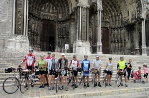 Group pre-ride to Chartres-PBP 2011