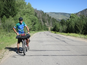 Tour Divide, father and son.