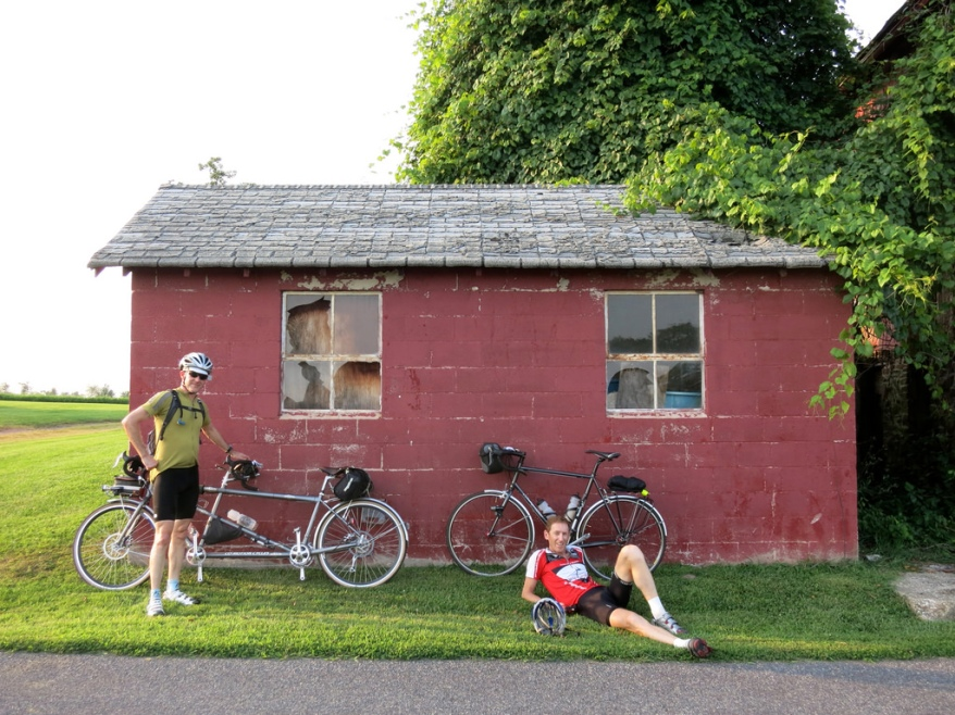 Final rest stop of the ride
