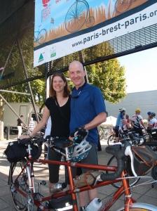 Felkerino and me, bike inspection