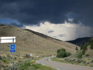 To climb or shelter, that is the question. Heading to Gunnison