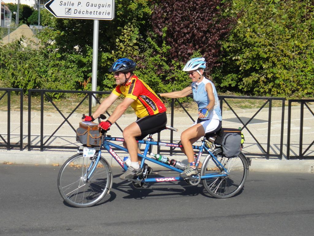 More Tandems At Paris Brest Paris 2011
