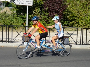 LOOK tandem. Look mom, no hands