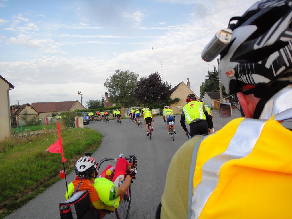 Riders on PBP 2011
