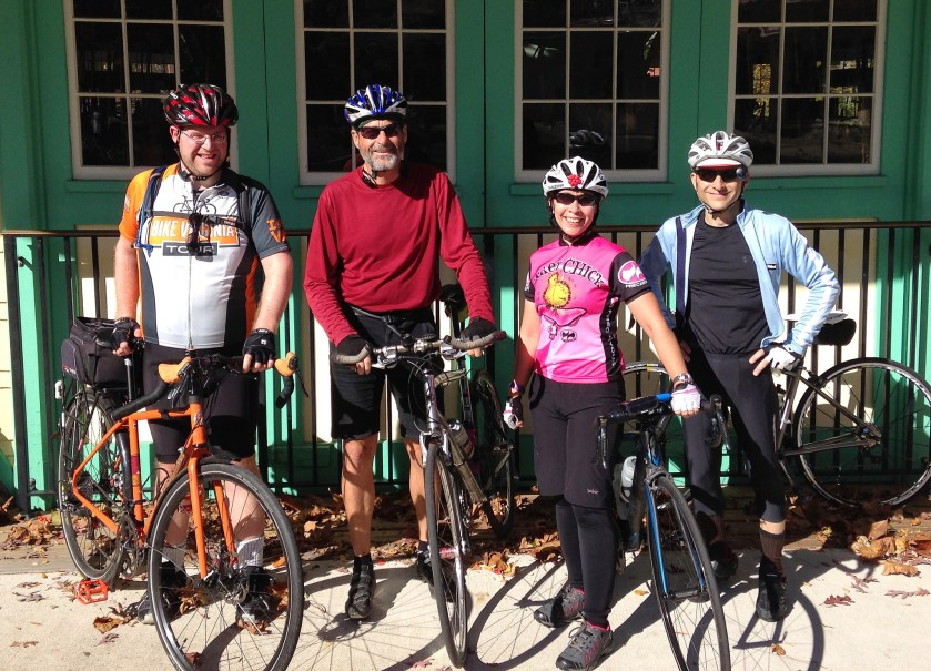 Coffeeneuring stop in Potomac Village with MrTinDC and friends