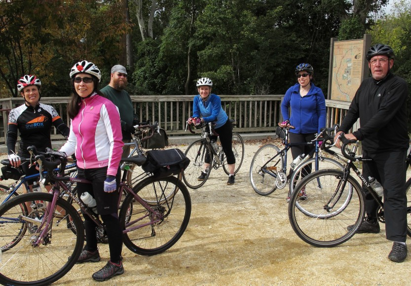 MrTinDC's Coffeeneuring Group at Fletcher's Cove