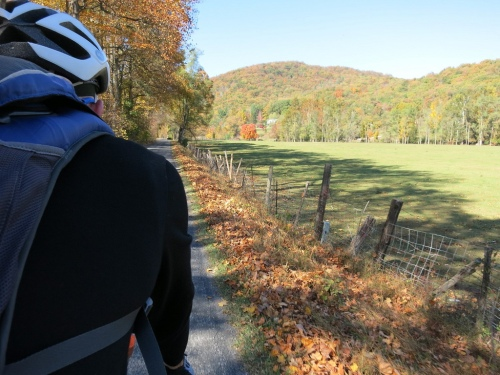 Fall ride outside Harrisonburg, VA