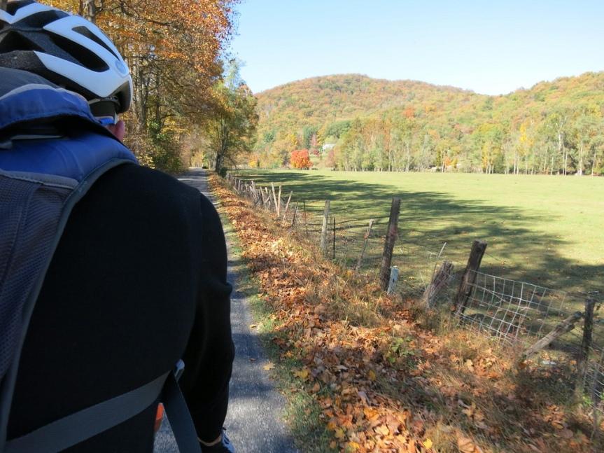 Fall ride outside Harrisonburg, VA