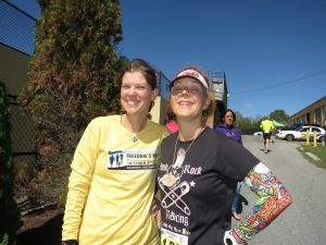 Kirstin and me at the finish