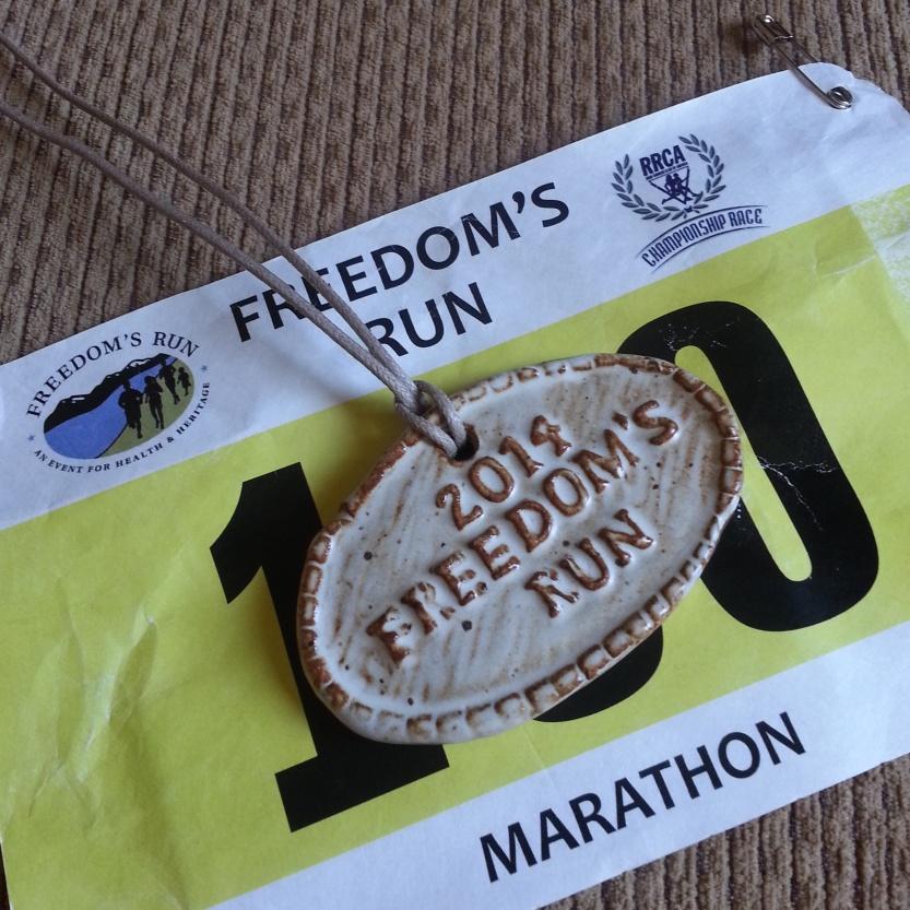 Freedom's Run medal