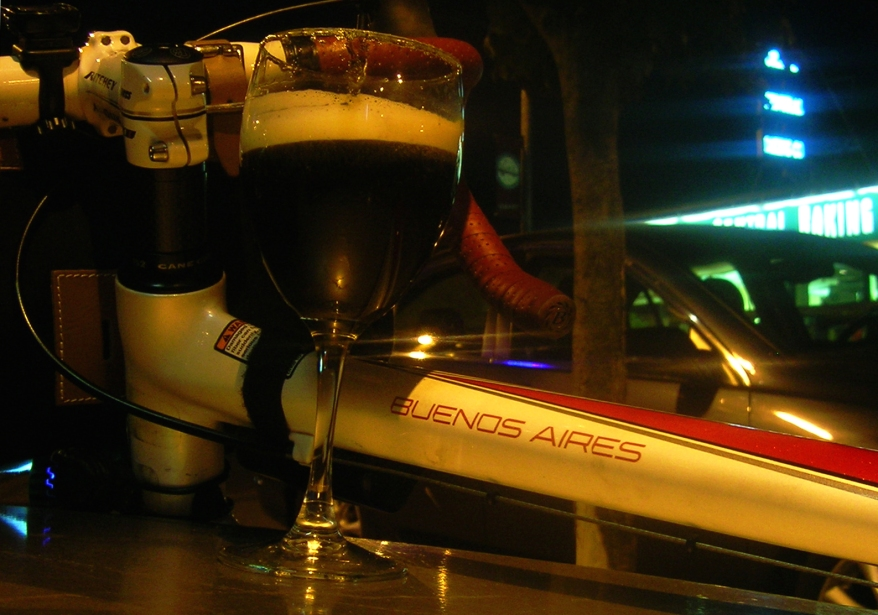 Spanish coffee at Imbibe, SE Portland, 7-31-09