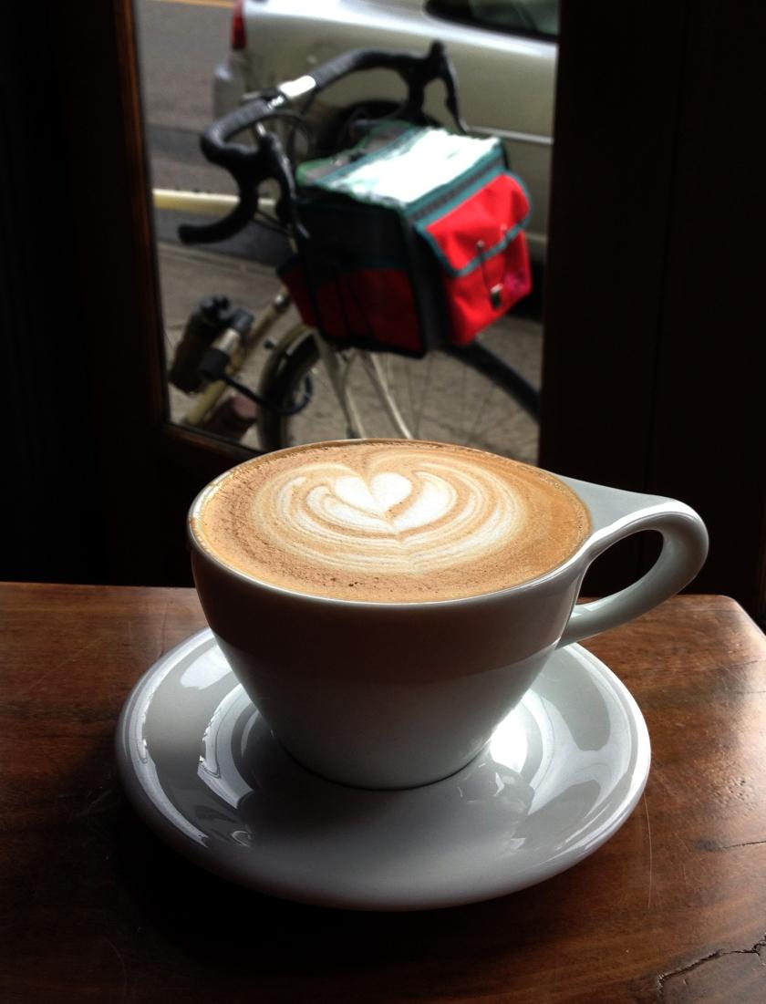 Water Avenue Coffee, SE Portland, 11-2-14