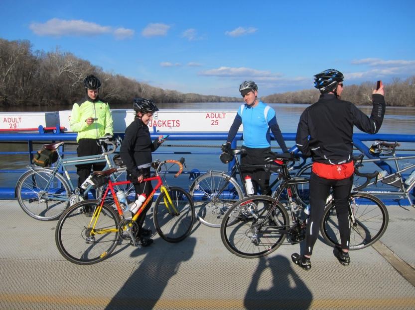 Leesburg Loop with Kevin, Alex, Brian, and Ryan