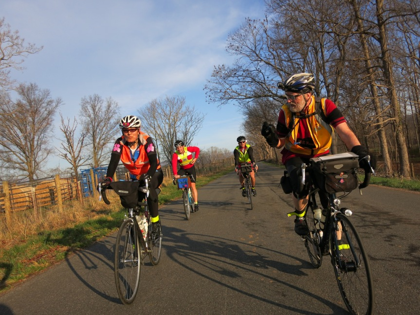 A perfect day for the D.C. Randonneurs 300K brevet
