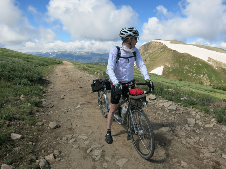 The final big climb of our Colorado bike tour
