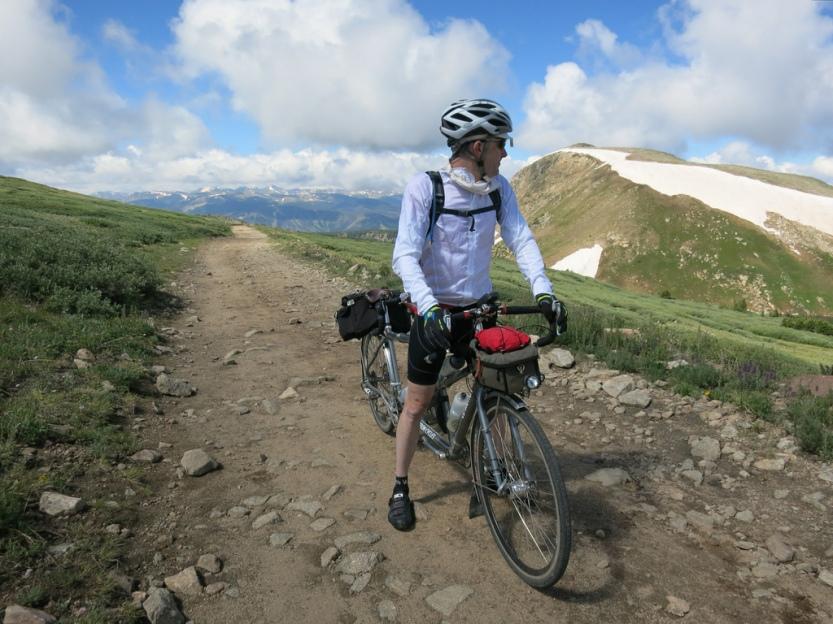 The final big climb of our Colorado bike tour