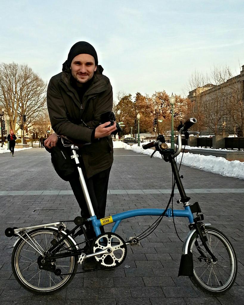 BikeNYC's Dmitry Gudkov