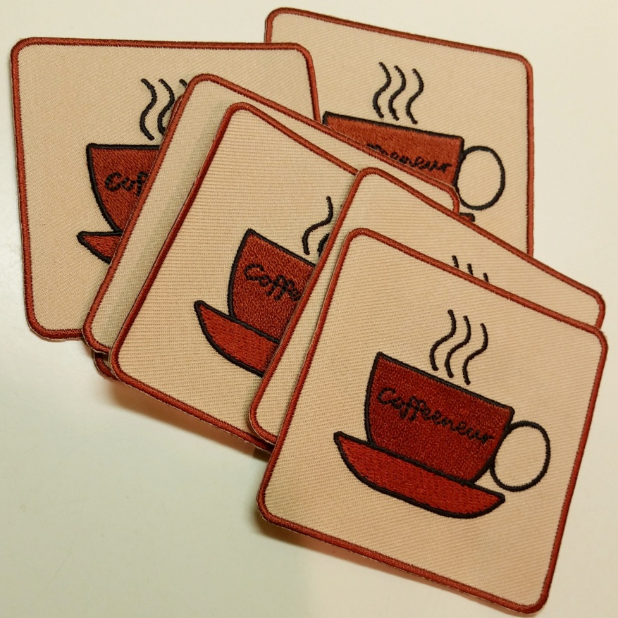 Coffeeneuring Patches