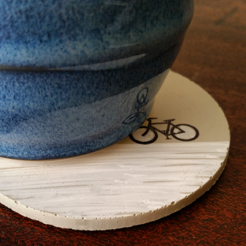 Coffeeneuring coaster