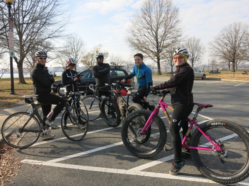 Hains Point 100 riders