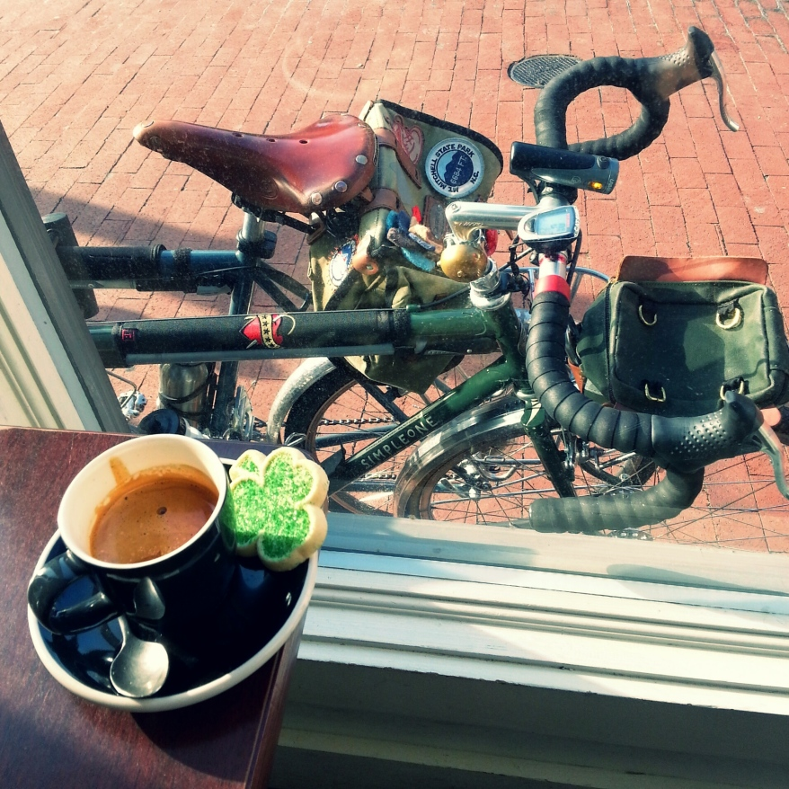 March birthday coffeeneuring