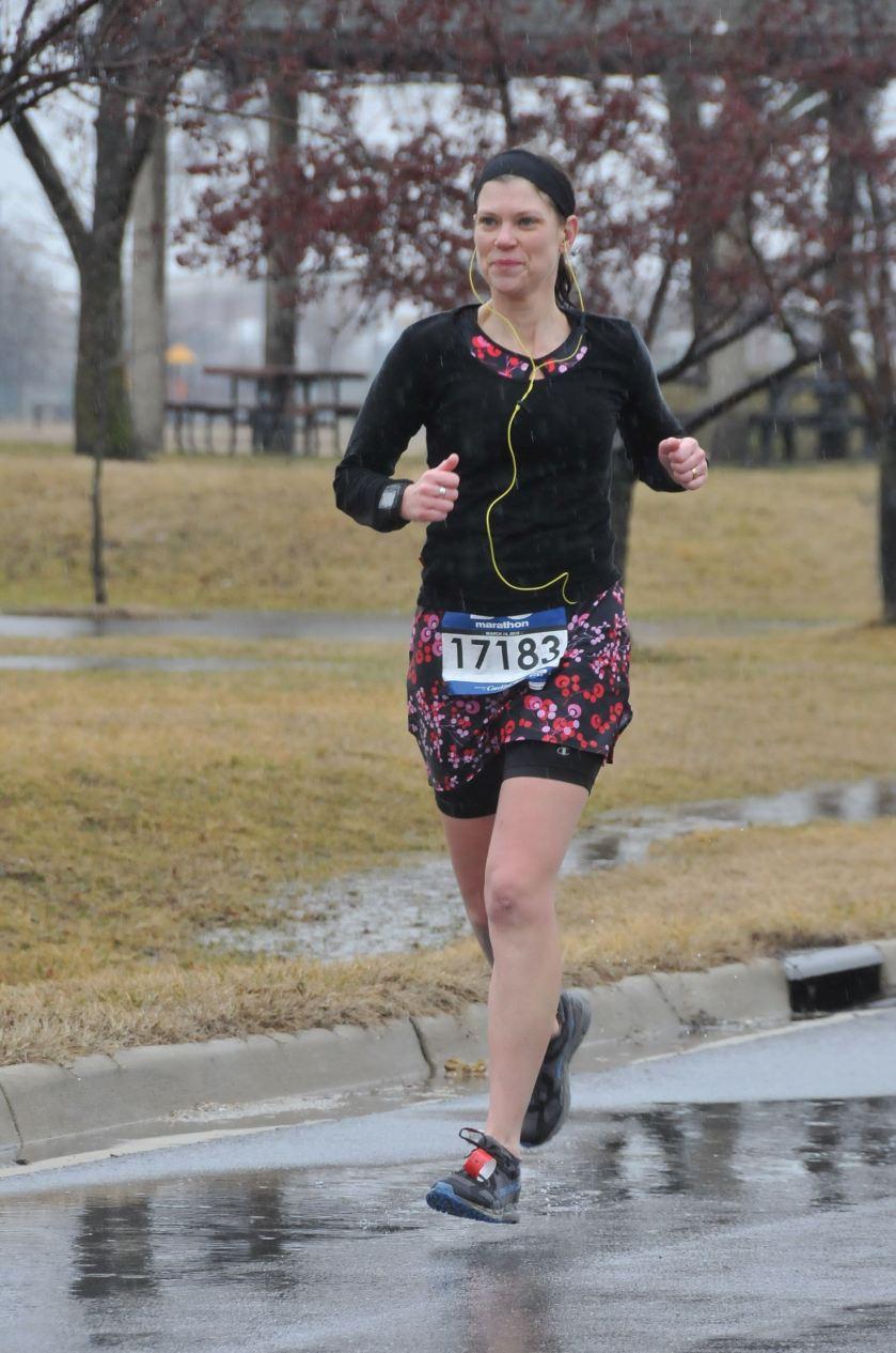 Rock Roll Marathon me running