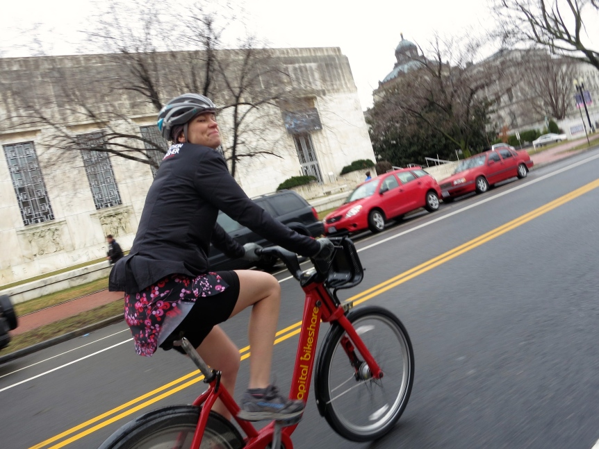 Bikeshare post-marathon