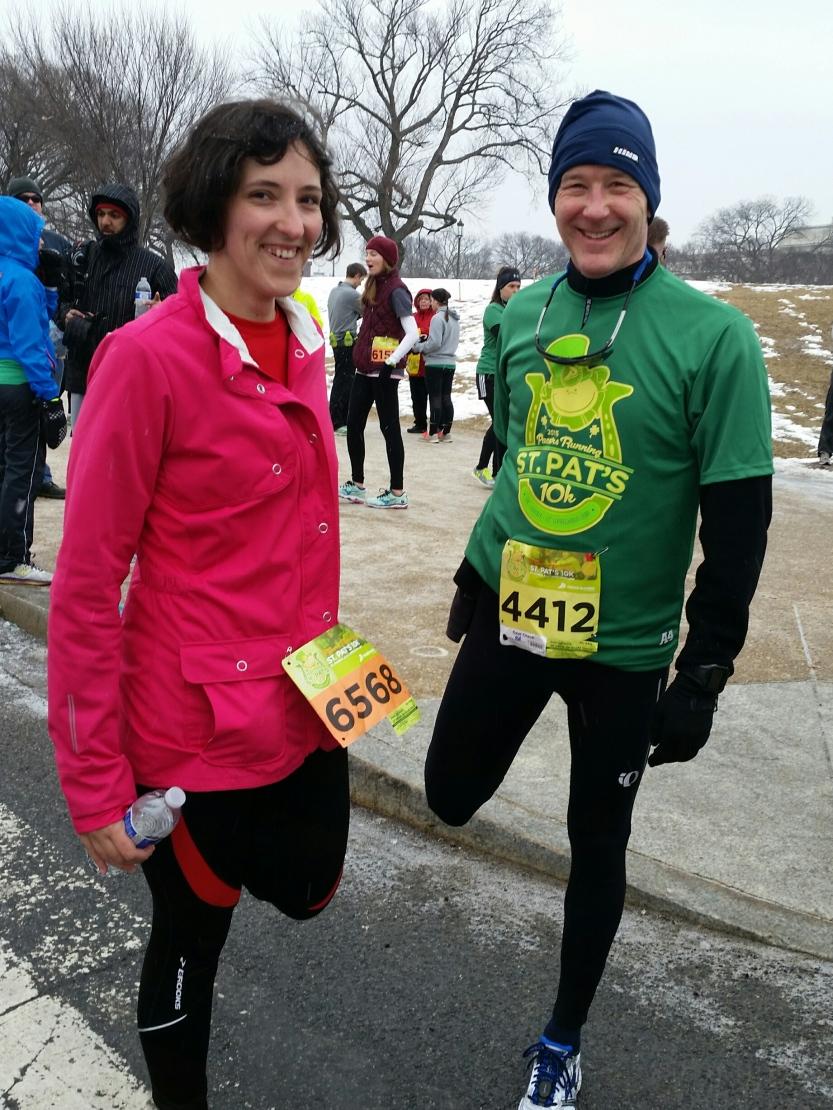 Katy and Felkerino Felkerino St. Patrick's 5K Run