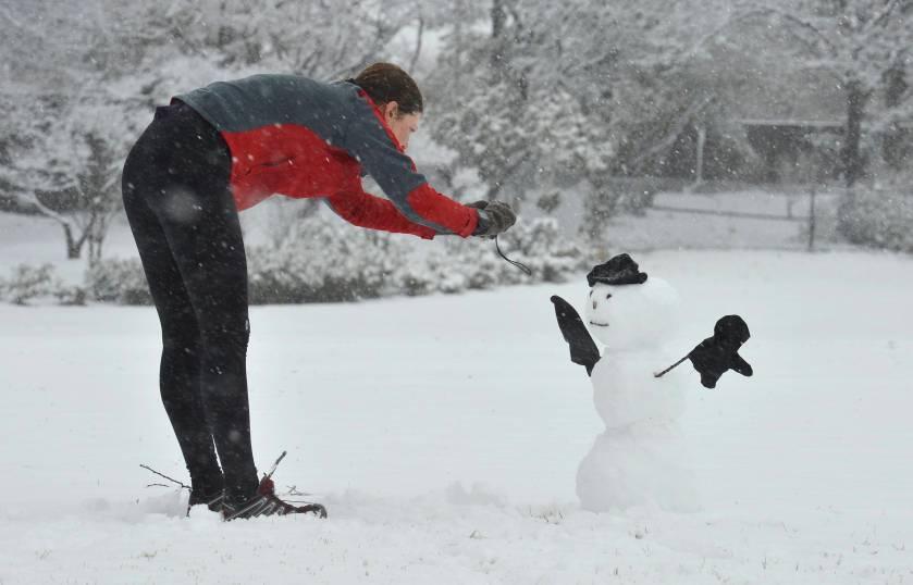 Heavy snowfall expected in Washington DC