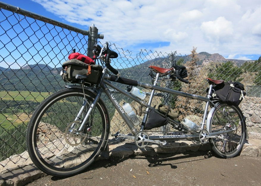 Co-Motion Tandem on Wolf Creek Pass