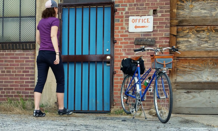 Day 12: Inspecting a new spot with the mixte