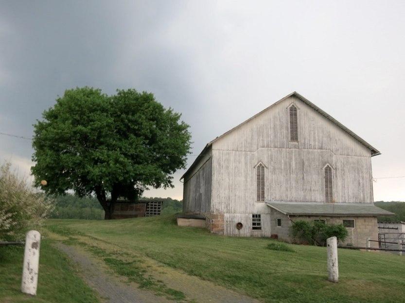 400K brevet. Ye Olde Barn and rain
