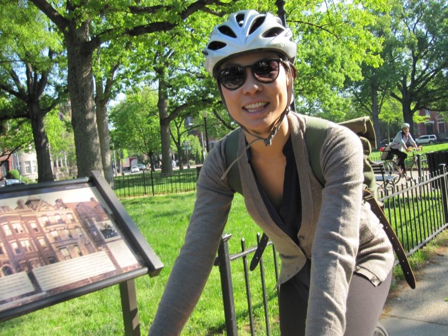 Carolyn - commuting to work
