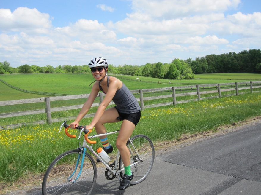 Carolyn - riding