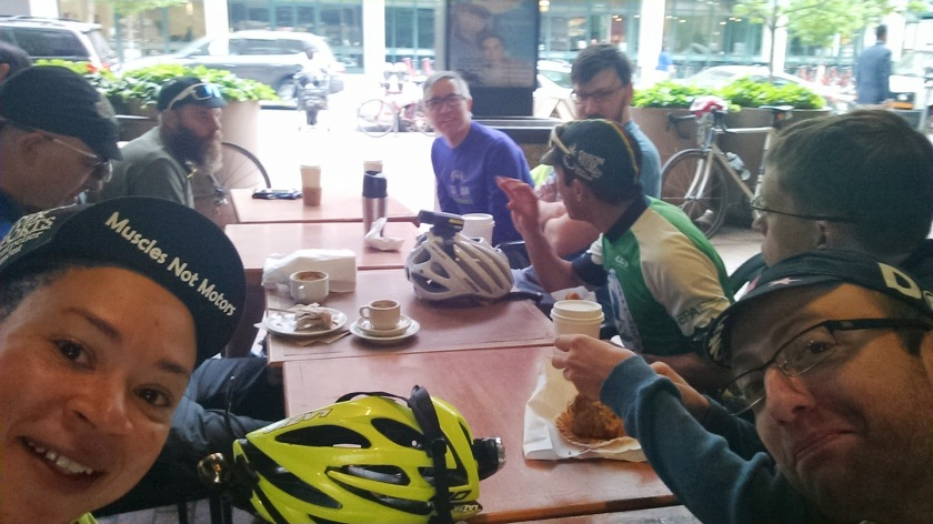DTSSCC invades FCC on Bike to Work Day