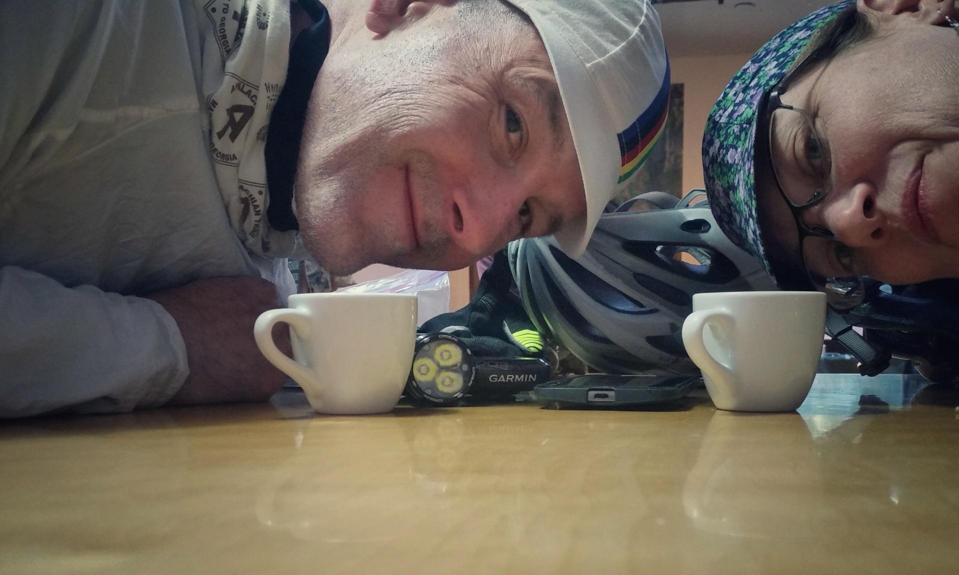 Ed me coffeeneuring