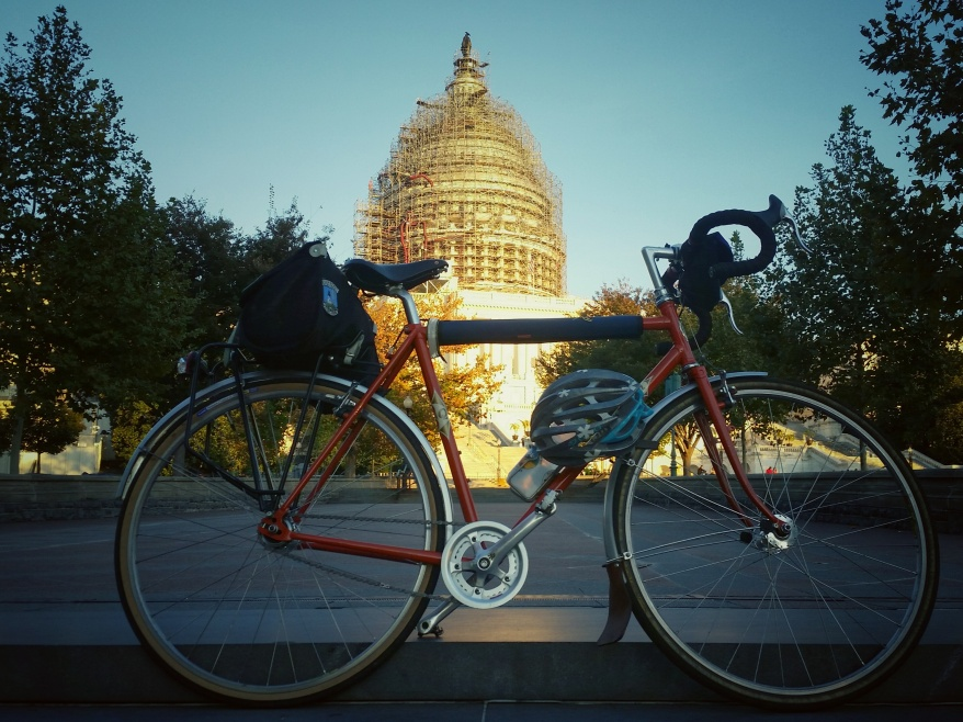 Helmet lock. No politicians steal this bike!