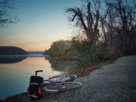 C&O Sunrise Ride on the Quickbeam