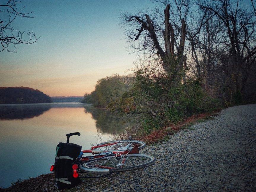 C&O Sunrise Ride on the Quickbeam