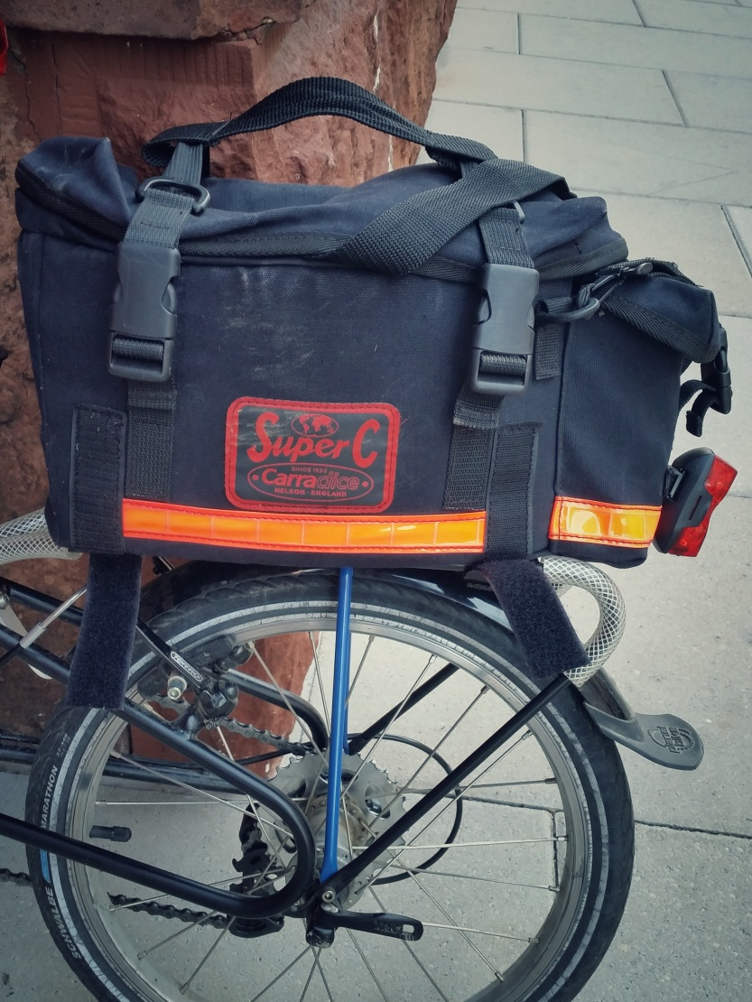 Carradice Super C Rack Top Bag