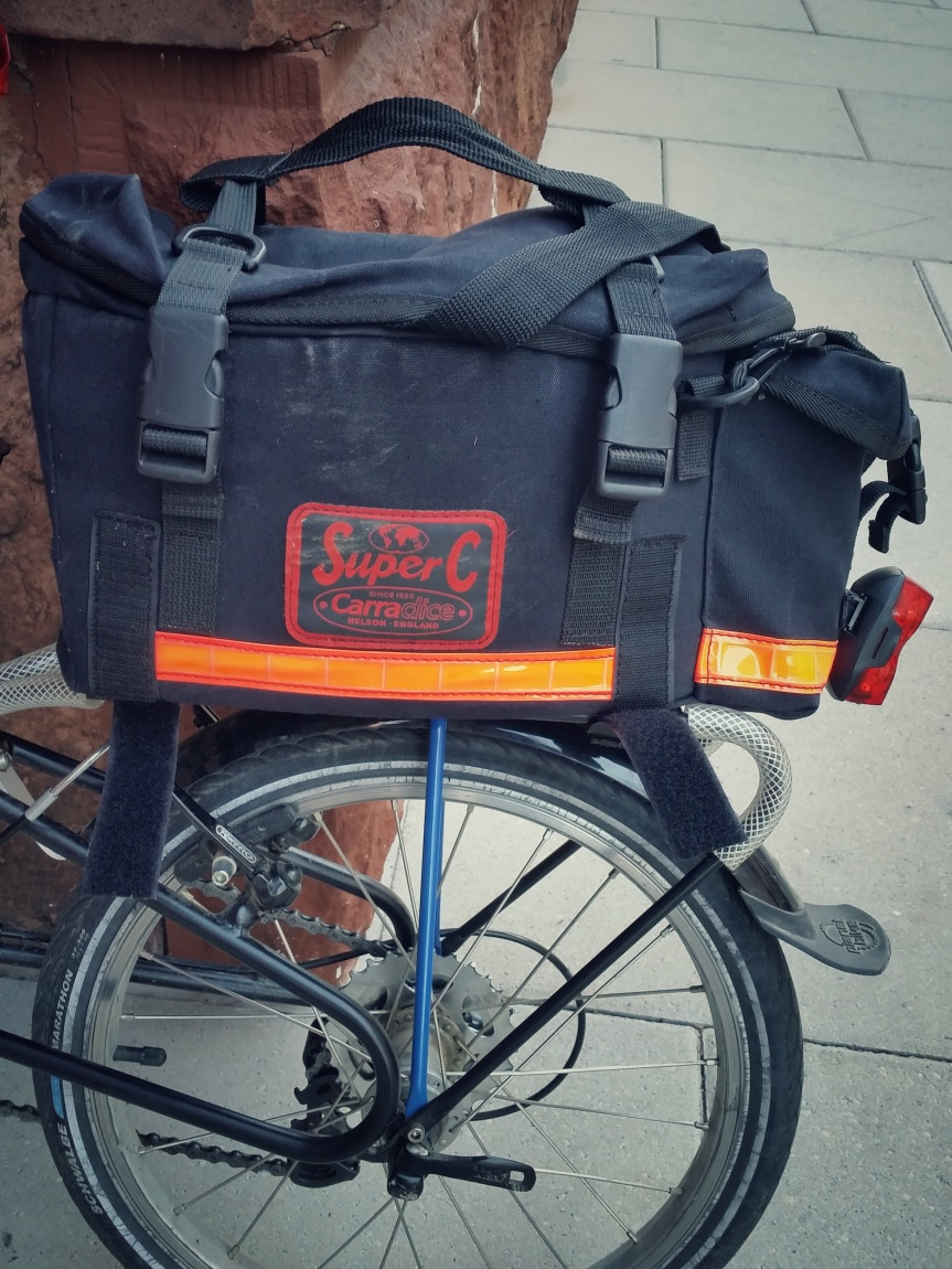 Carradice Super C Rack Top Bag