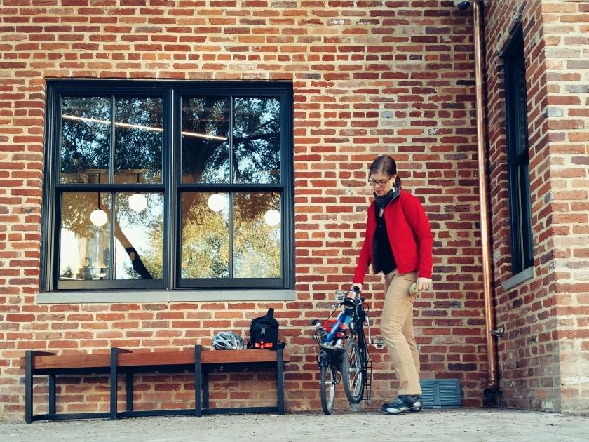 Bike Friday Tikit and me
