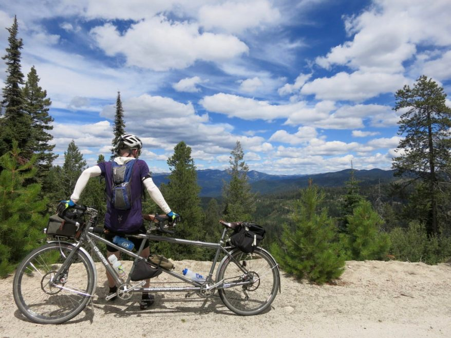 Day 9: High Point on the Idaho Hot Springs Route outside McCall