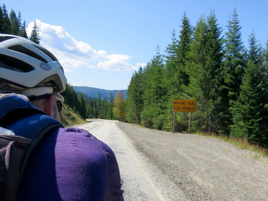 Day 6: Winding Road for Next 99 Miles